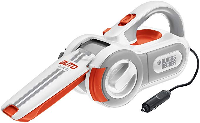 6. 12V Cyclonic-Action Automotive Handheld Vacuum Cleaner by Black & Decker