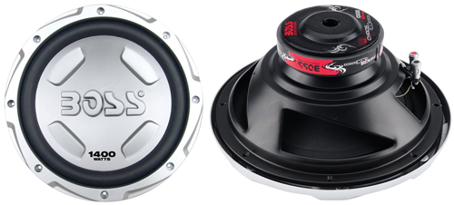 6 BOSS Audio CX122 Chaos Exxtreme 12-inch 1400-watt SINGLE Voice Coil Subwoofer