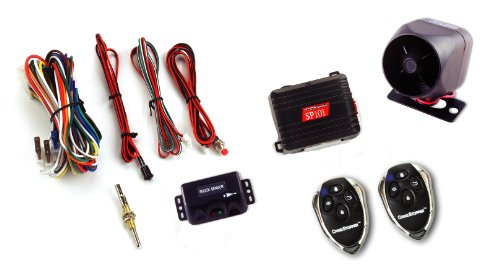 10. SP-101 Deluxe 1-Way Alarm and Keyless Entry System by Crime Stopper