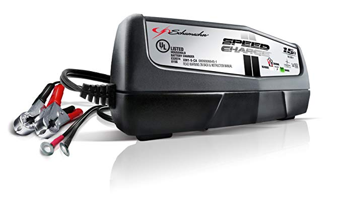 3. XM1-5 1.5 Amp Automatic Charger and Maintainer by Schumacher