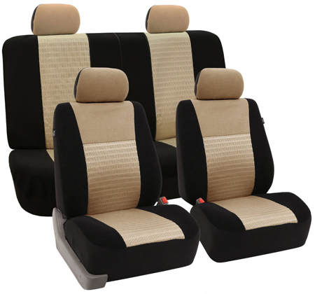 6. Trendy Elegance Car Seat Covers by FH Group