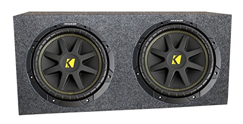 5 Package: (2) Kicker 10c12d4 12 Comp 600 Watt Dual