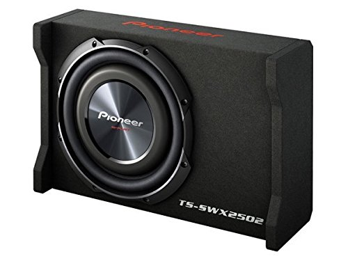 3 PIONEER TSSWX2502 10-Inch Shallow-Mount Pre-Loaded Enclosure Sub Woofer