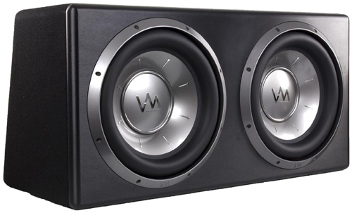 7 VM Audio Dual 12 Sealed 4800 Watt Complete Car Stereo Subwoofer Bass Package