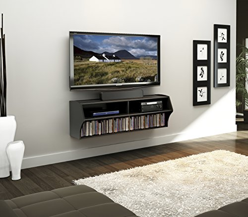 Prepac BCAW-0200-1 Altus Wall Mounted Audio/Video Console 48.5