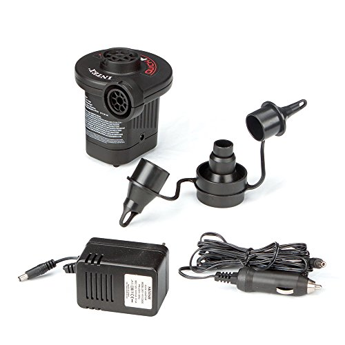 Intex Quick-Fill AC/DC Electric Air Pump, 110-120 Volt, Max. Air Flow 15.9CFM