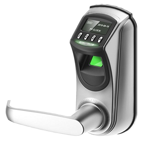 KTeco Password and Fingerprint Door Lock Smart Keyless Entry Lockset Interior