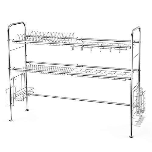 Top 10 Best Extra Large Dish Drying Racks in 2019 [NEW] • GTR