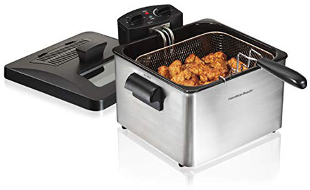 Hamilton Beach (35034) Deep Fryer, With Basket