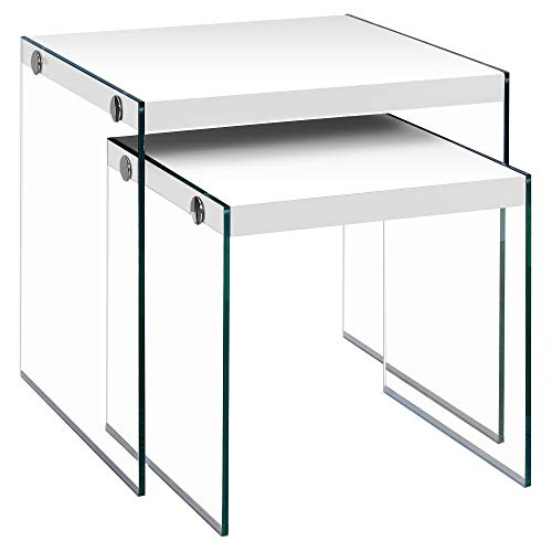 Monarch Specialties I 3287 Nesting Table