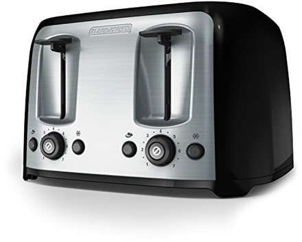 Black + Decker 4-Slice Toaster