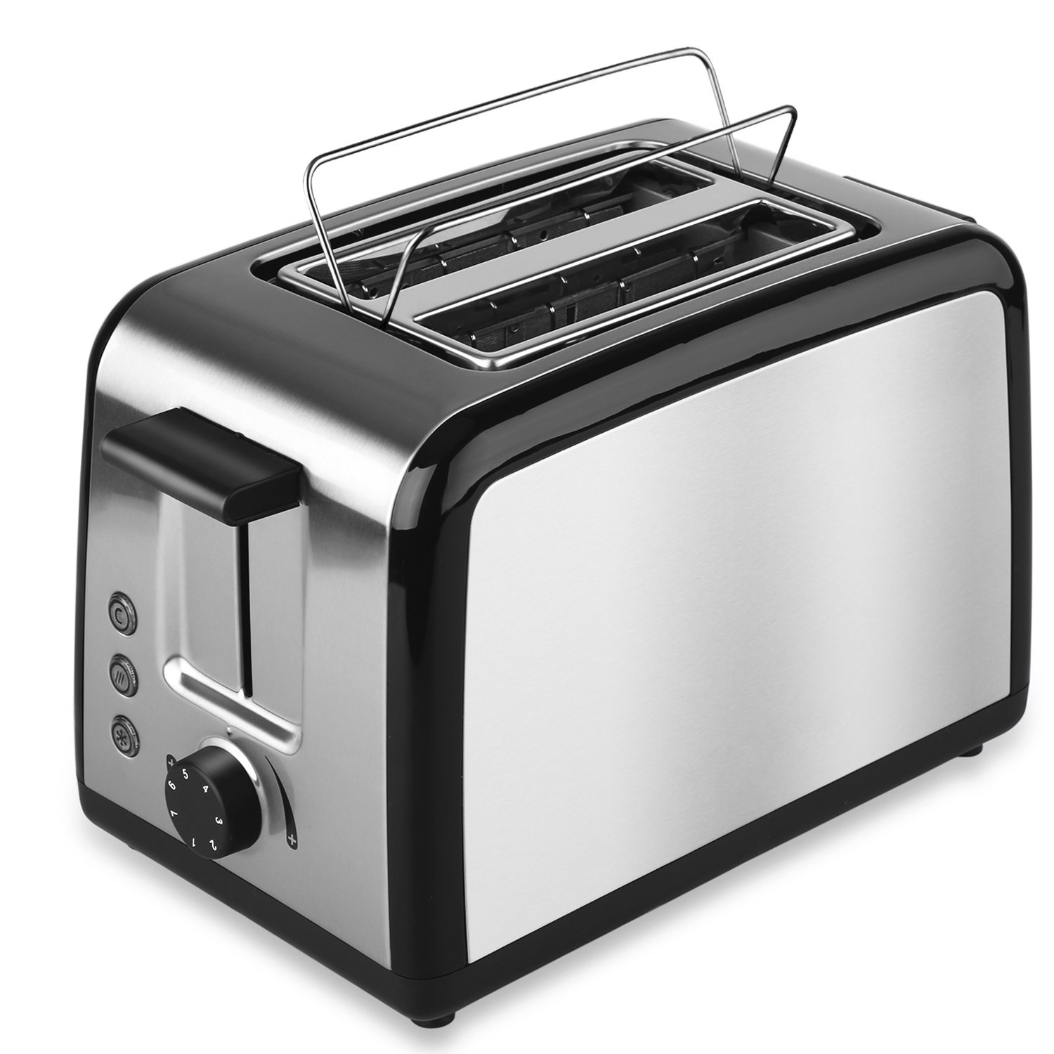 Toaster 2 Slice Stainless steel by TO BOX