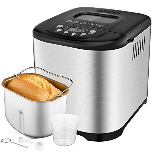 Automatic Bread machine Aicok 2.2 pounds Breadmaker