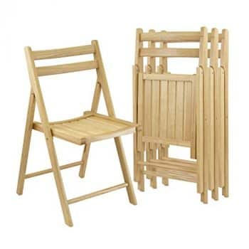Top 10 Best Wooden Folding Chairs