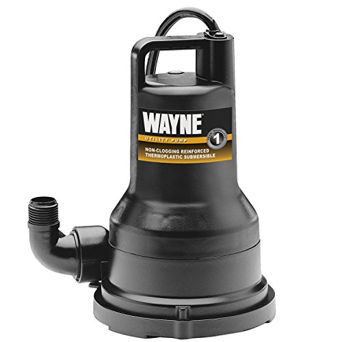 Wayne Thermoplastic Portable Electric Water Removal Pump