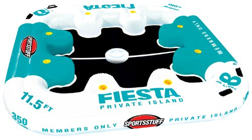 SportsStuff Fiesta Island Inflatable Pool Float