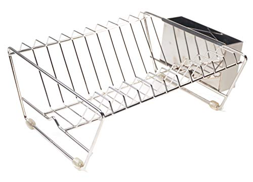 RSVP International - Endurance Stainless Steel In-Sink Dish Drying Rack