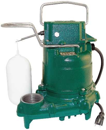 Zoeller M53 Mighty Mate Submersible Sump Pump