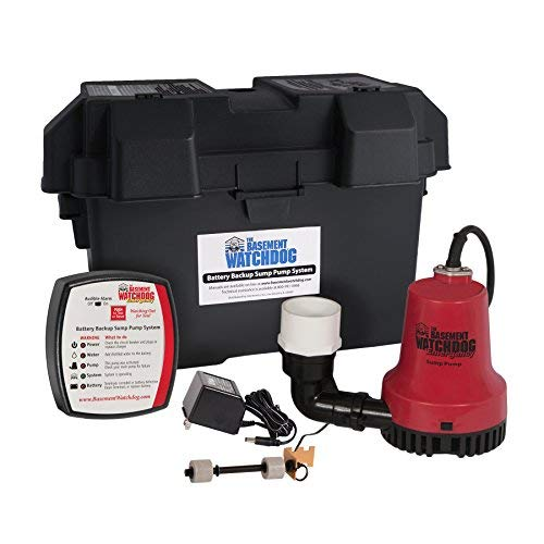 The Basement Watchdog Battery Backup Sump Pump