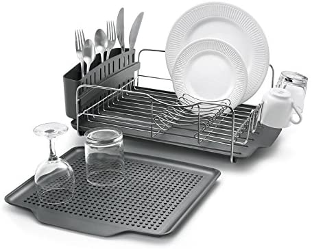 Polder - KTH-615 Dish Rack & Tray Combo Advantage System Includes Rack