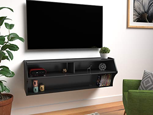Prepac - Altus Wall Mounted Audio/Video Console
