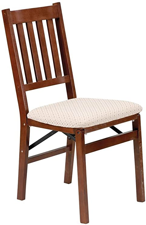 Stakmore - Arts and Crafts Folding Chair in Warm Cherry Finish
