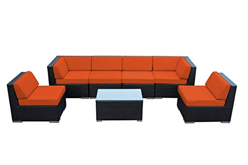 Ohana Outdoor Patio Furniture Sectional Conversation Sets