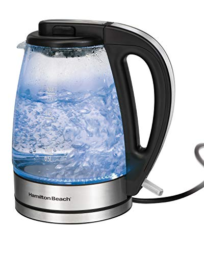 Hamilton Beach Glass Electric Kettle for Tea and Water