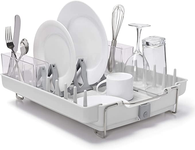 OXO Good Grips Convertible Foldaway Dish Rack