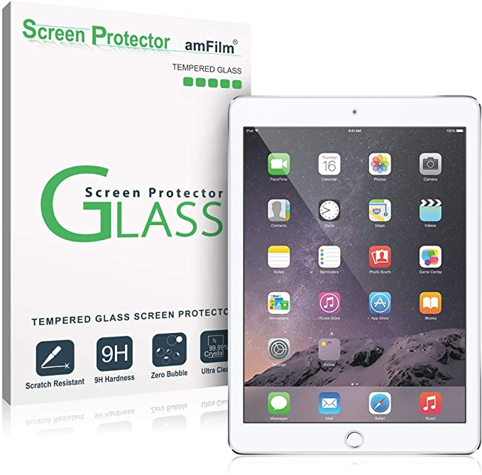 amFilm - Glass Screen Protector for iPad 9.7