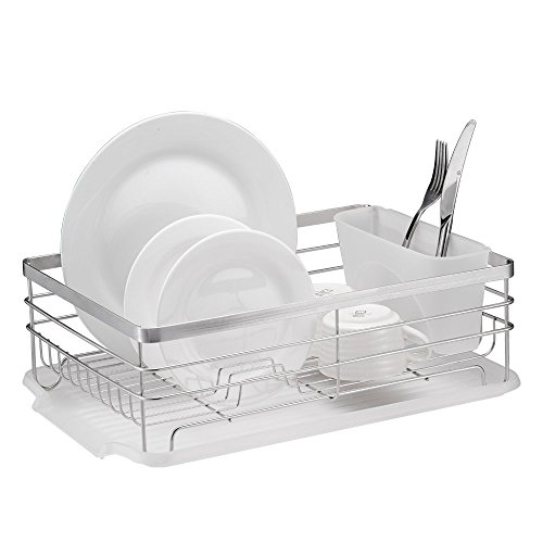 Neat-O - Stylish Sturdy Stainless Steel Metal Wire Medium Dish Drainer