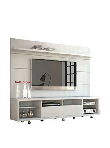 Manhattan Comfort - Cabrini TV Stand and Floating Wall TV Panel