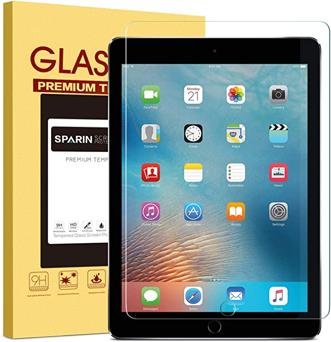 SPARIN - iPad Tempered Glass Screen Protector