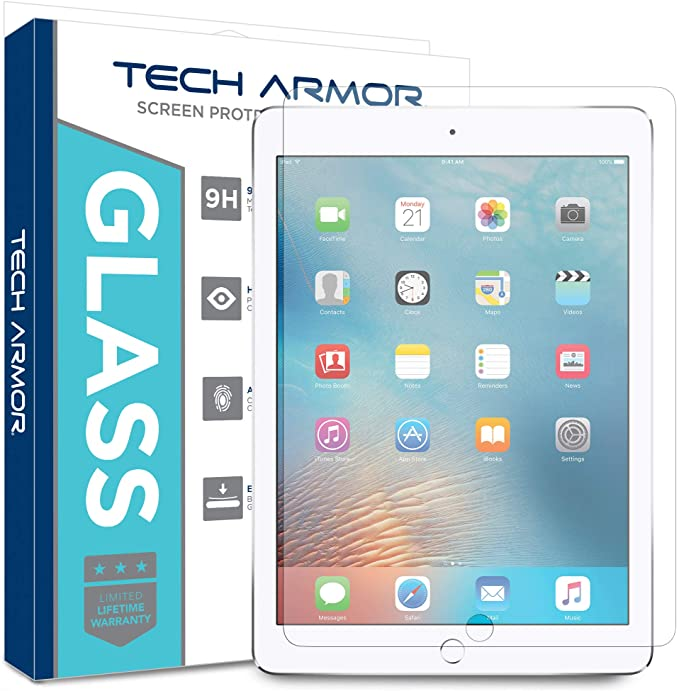 Tech Armor - Premium Ballistic Glass Screen Protector for Apple iPad
