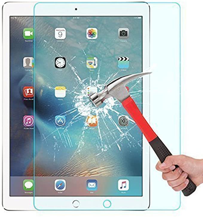 WONFAST - Tempered Glass Screen Protector for Apple iPad Pro 12.9 inch