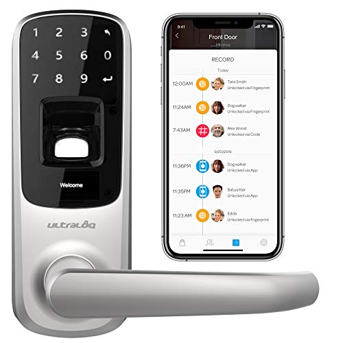 Ultraloq UL3 BT Bluetooth Fingerprint & Touchscreen Smart Lock