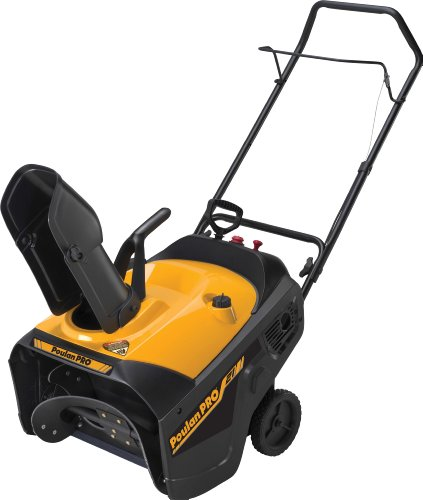 Poulan Pro Electric Start 136cc Single Stage Snow Thrower