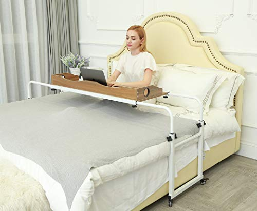 UNICOO Height Adjustable Overbed Table