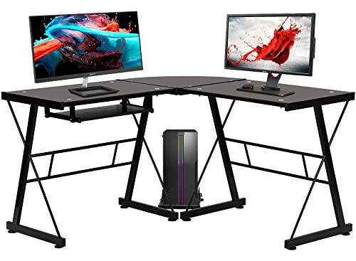 BestOffice L Shaped Corner Computer Desk