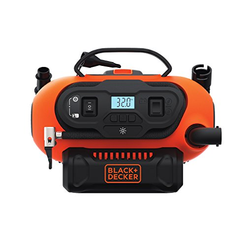 BLACK+DECKER 20V MAX Cordless Tire Inflator