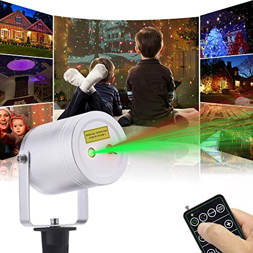 Ominilight Christmas Laser Lights with Landscape Projector