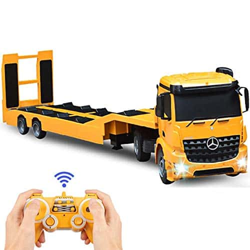 Double E RC Tow Truck with Detachable Flatbed