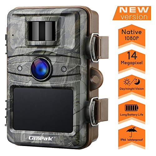 Campark - T70 Trail Game Camera No Glow Night Vision