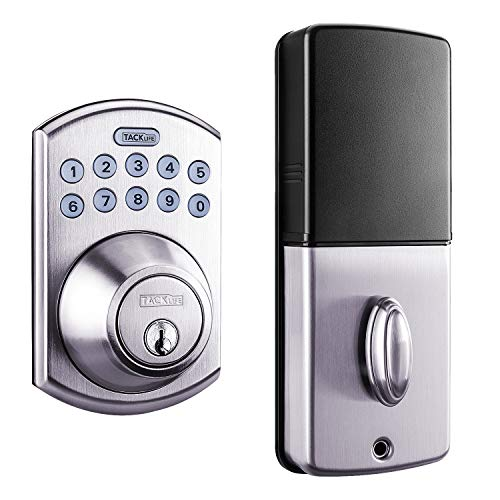 Tacklife EKPL1A Electronic Deadbolt Keypad Door Lock