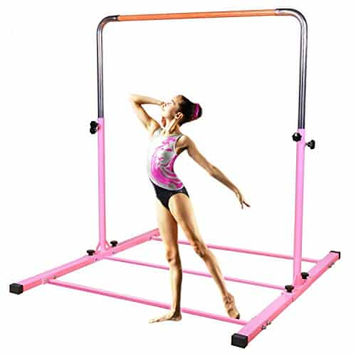 SHIWEI Gymnastics Training Bar with Height Adjustable