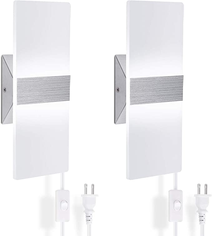 ChangM - Modern Wall Sconce Plug in