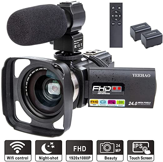 YEEHAO - Powerful Digital Zoom Camera with Microphone