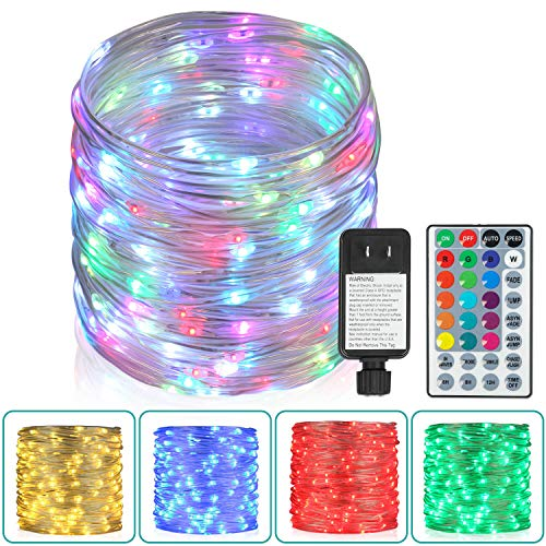 Homestarry Color Changing Rope Lights with Remote