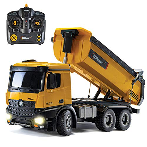 Top Race TR-212 Construction Dump Truck