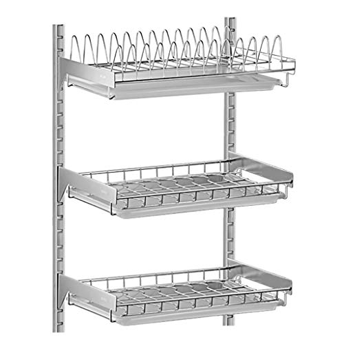Yan Stainless Steel Dish Drying Rack 3 Tier